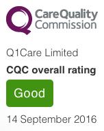 CQC overall rating GOOD