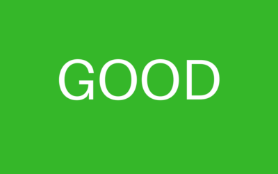 The CQC has rated us as GOOD